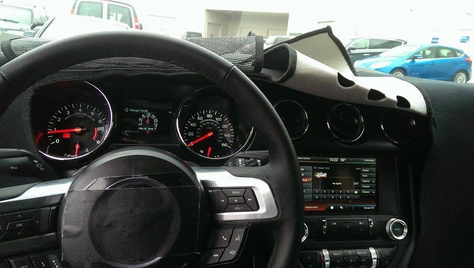 2015 Mustang News, Rumor & Spy Photos - 2015 Mustang Gauges